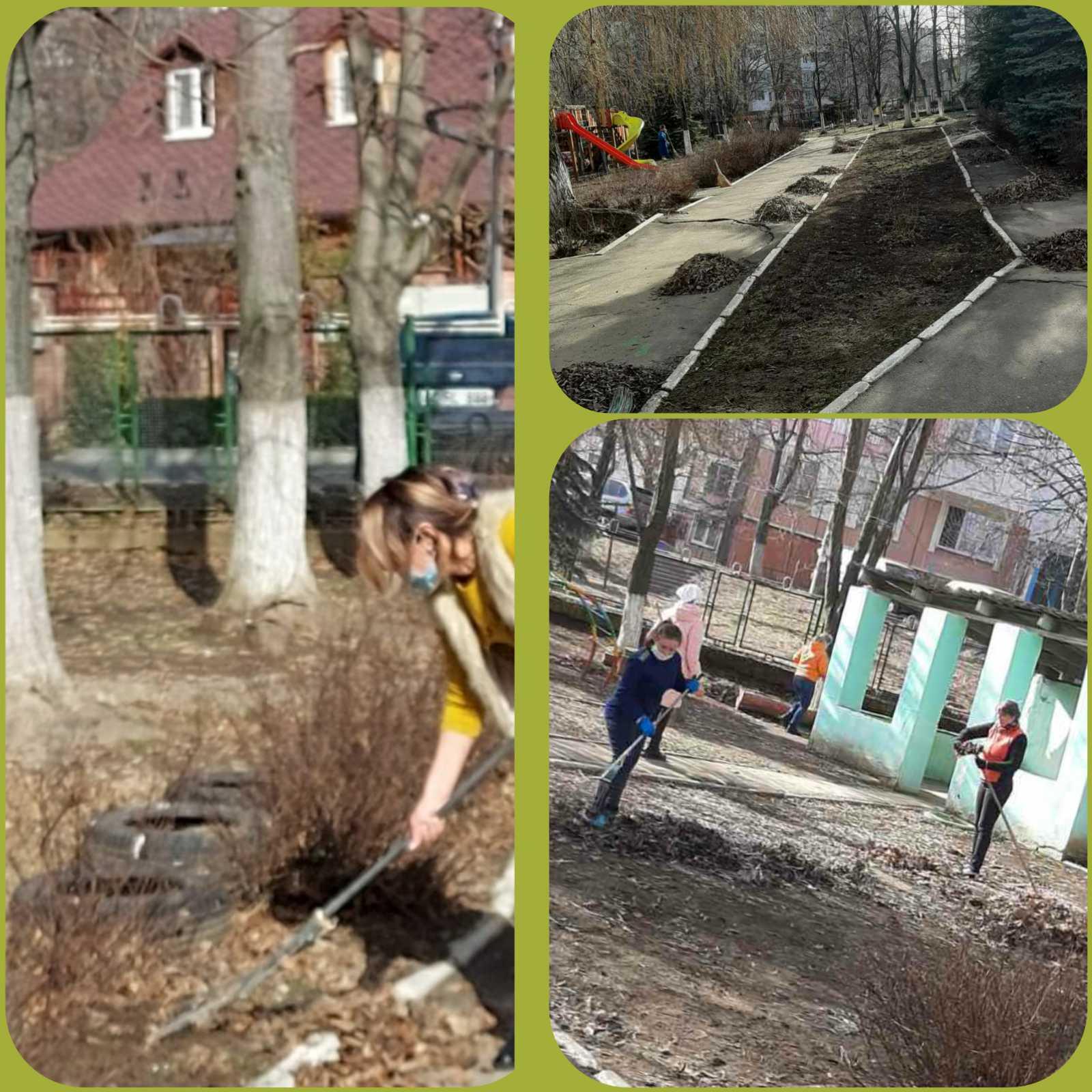 Curățenia generală de primăvară în IET nr.164